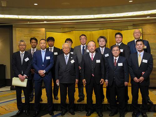 平成31年度優良従業員表彰式および 東京木場製材協同組合新年顔合せ会