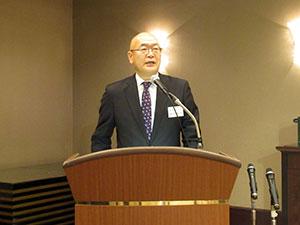 令和2年度東京木場製材協同組合新年顔合せ会